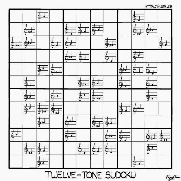 Twelve-tone Sudoku