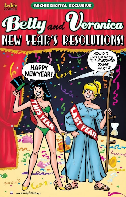 Betty and Veronica New Year's Resolutions!