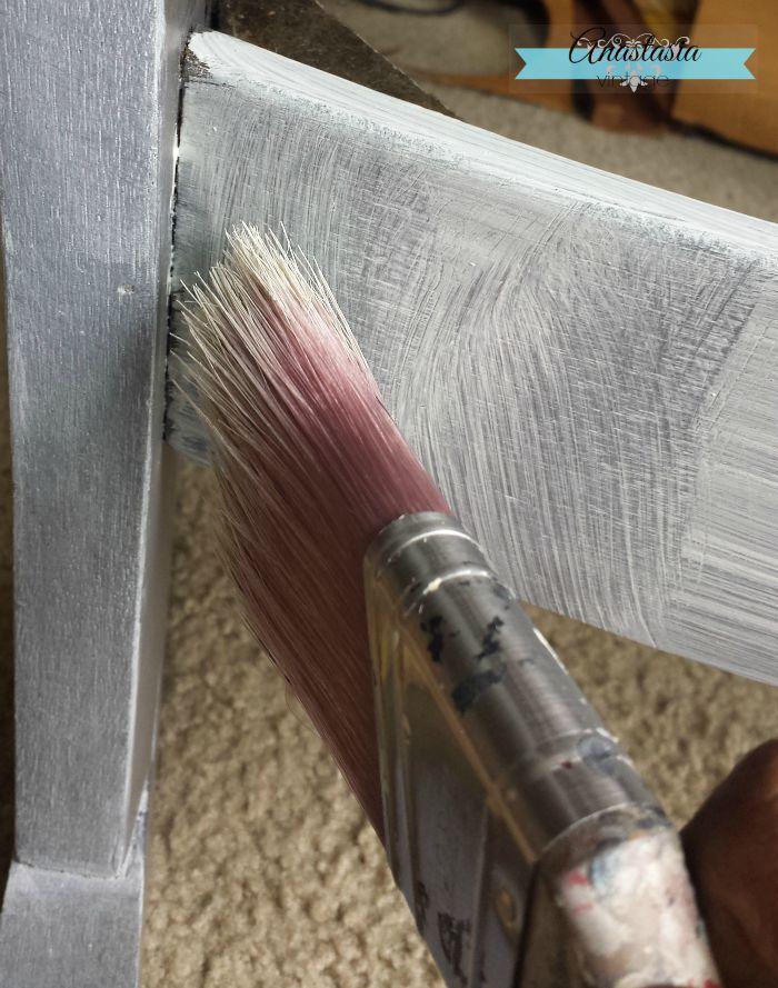 ocking chair restoration hardware finish General Finishes white glaze