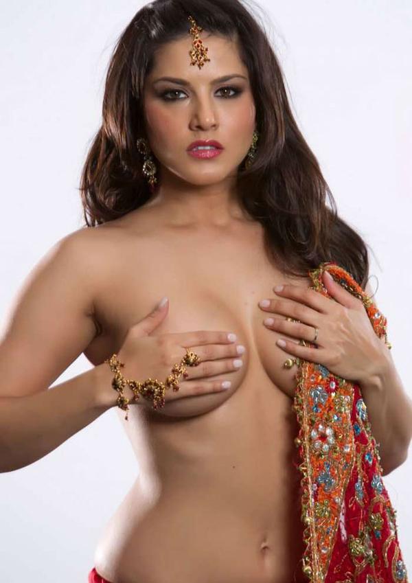 Sunny Leone's July 2013 Topless Photostills n Red saree ~ Thiruttu ...