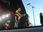 Scorpions, 9 iunie 2011, bucata acustica, Rudolf Schenker, James Kottak, Matthias Jabs si Klaus Meine