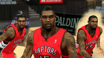NBA 2K13 Amir Johnson Cyberface Patches