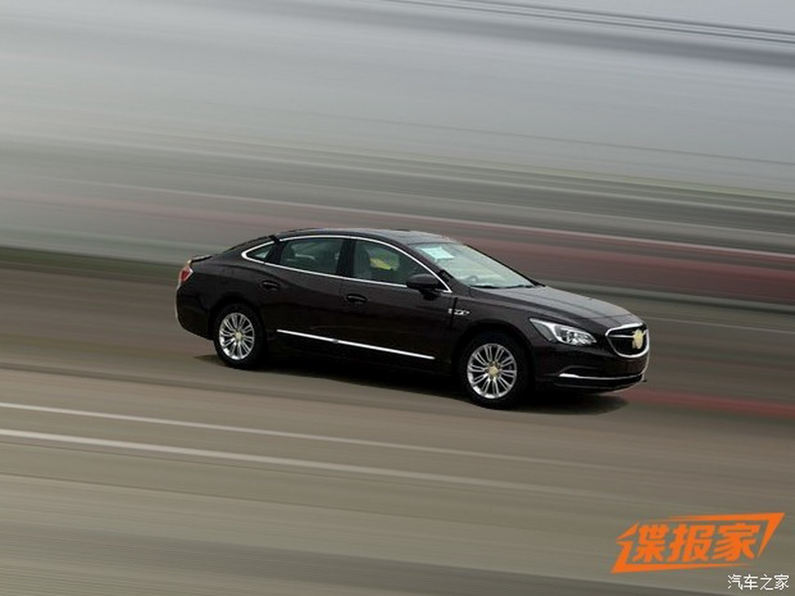 2017 buick lacrosse sedan exposed in china carscoops. Black Bedroom Furniture Sets. Home Design Ideas