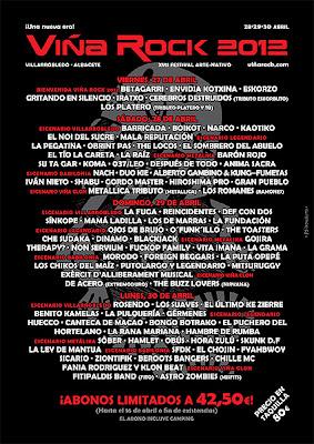 Viña Rock amplia el cartel con una fiesta a cargo de Betagarri o Eskorzo