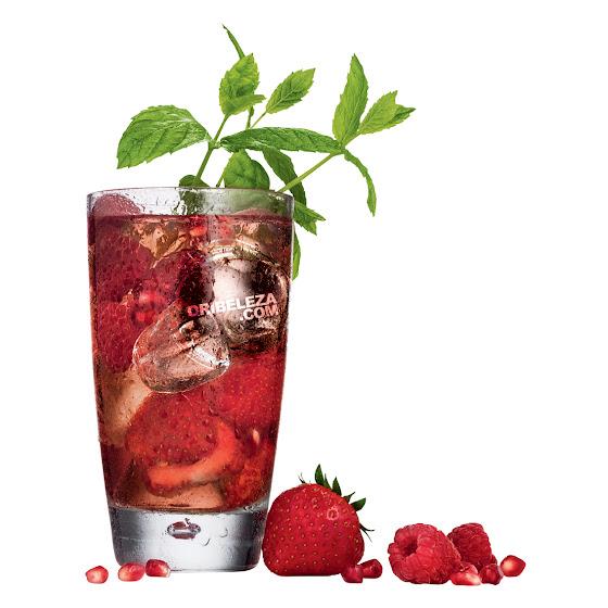 Receita Explosão de Frutos Vermelhos