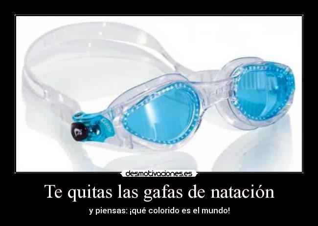 Buscando la luz noviembre 2013 for Gafas de piscina graduadas