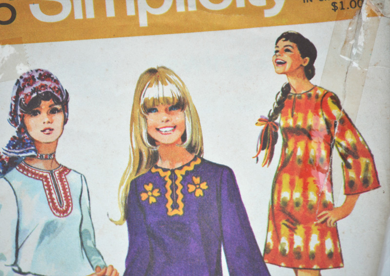 The Flying Clubhouse: Vintage Goodies - Simplicity 9156 ,1970