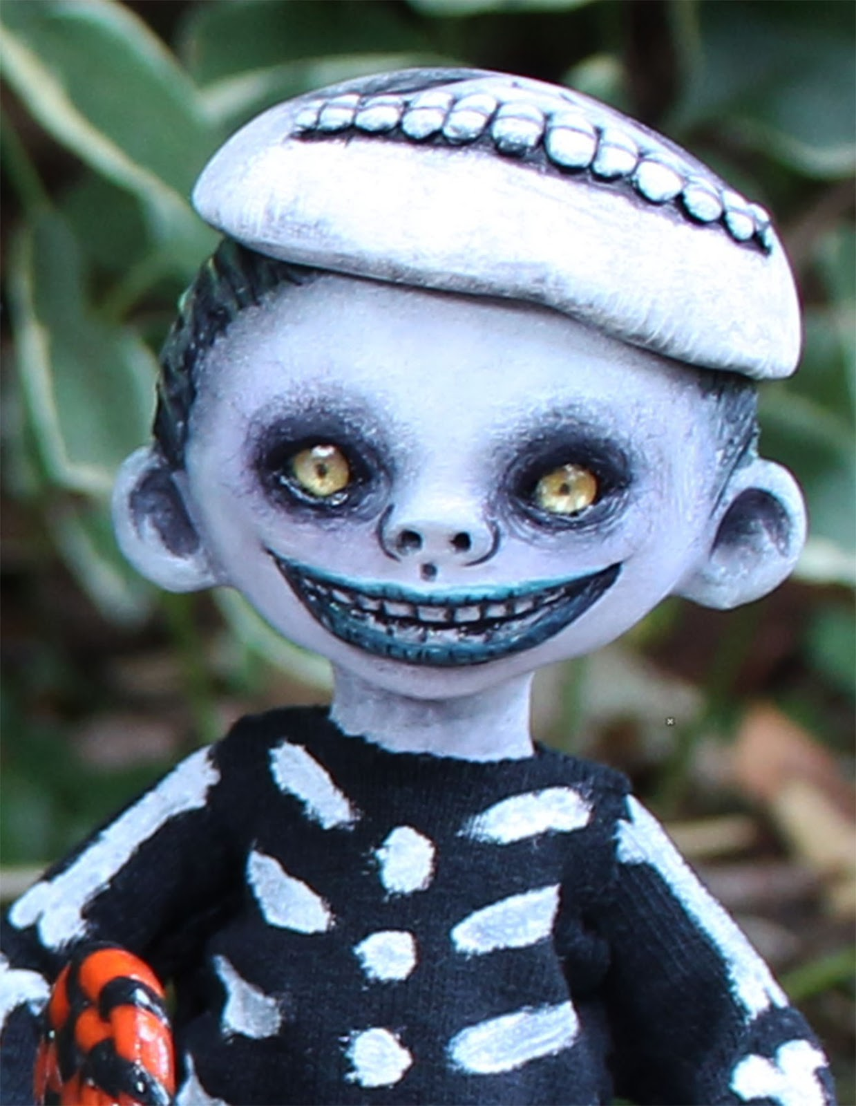 Anne Marie Gibbons Lil\' Poes OOAK goth dolls and monsters.: OOAK art ...