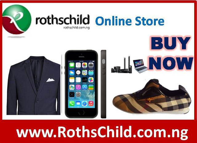 ADVERTISMENT: Buy From www.Rothschild.com.ng Online Store Today