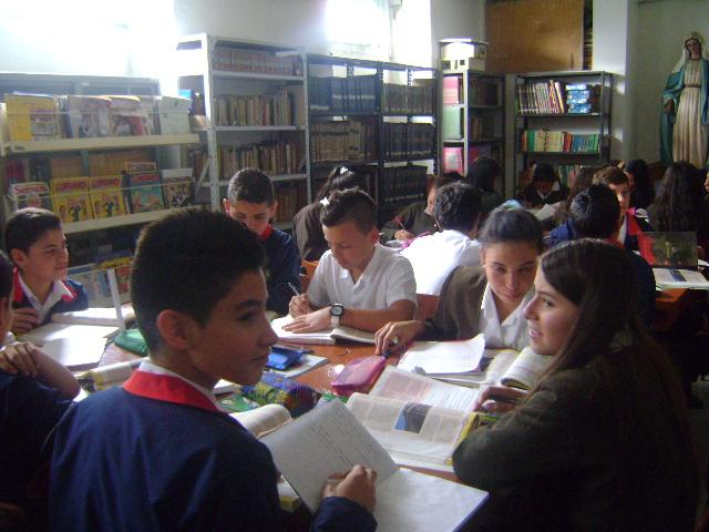 LA BIBLIOTECA,UN MEDIO DE APRENDIZAJE-COMPETENCIAS LECTORAS