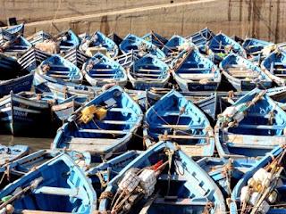 Essaouira, Morocco, fishing boat