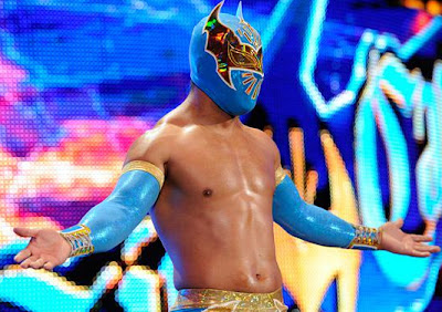 ���� Cara ���� ����� Sin Cara attacks Jack Swagger 13.JPG
