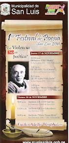1er. Festival de Poesía San Luis 2011