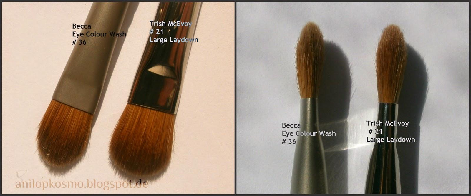 кисти для макияжа из ворса соболя, колонка, Бекка, Триш МакЭвой, отзыв