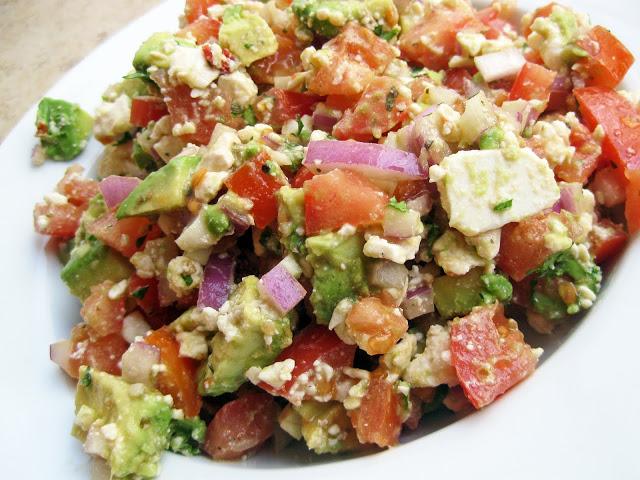 Tailgate Recipes: Avocado Feta Salsa