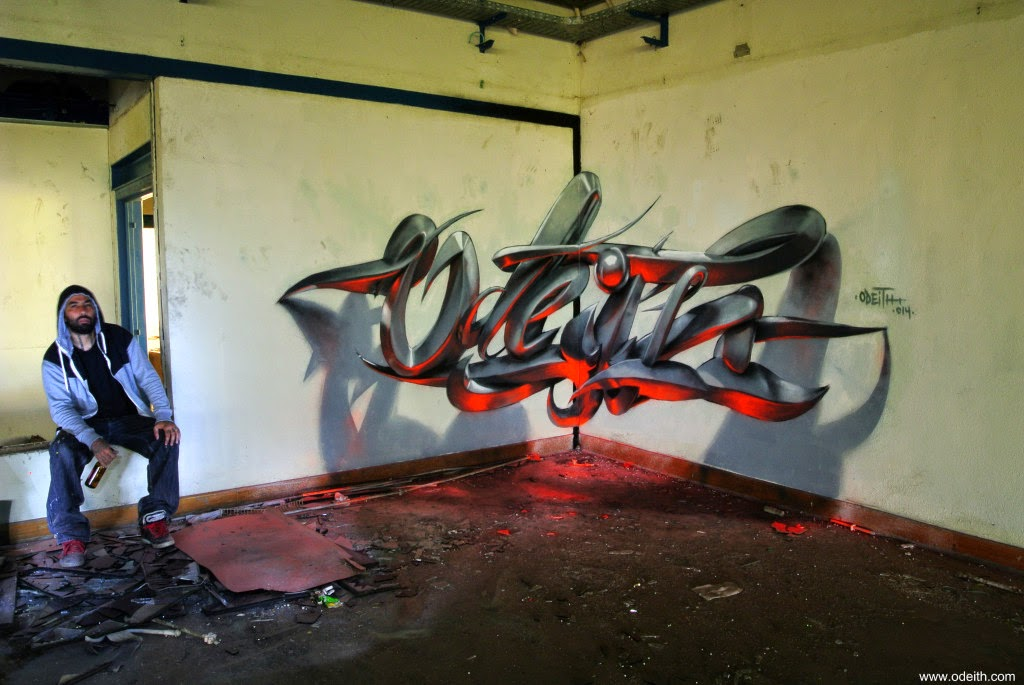 13-Letters-Floor-Reflected-Odeith-3D-Anamorphic-Graffiti-Drawings-www-designstack-co