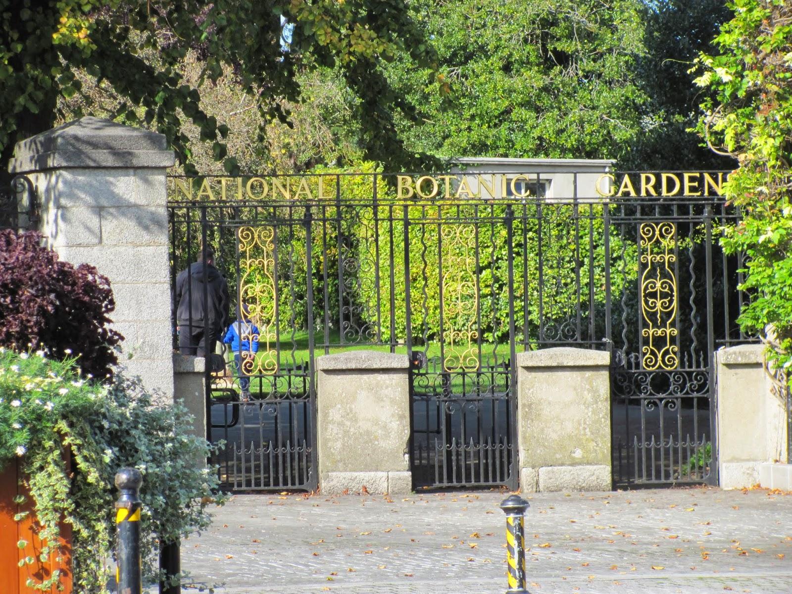 Botanic Gardens Front Gate Dublin