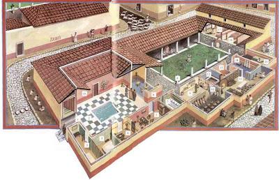 Devir n made viagens filosofia domus villa insulae Como eran las casas griegas