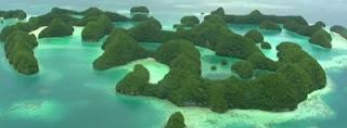 Palau Adasının Muhteşem Güzellikleri