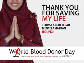 Hari Donor Darah Sedunia 2015 #WBDD