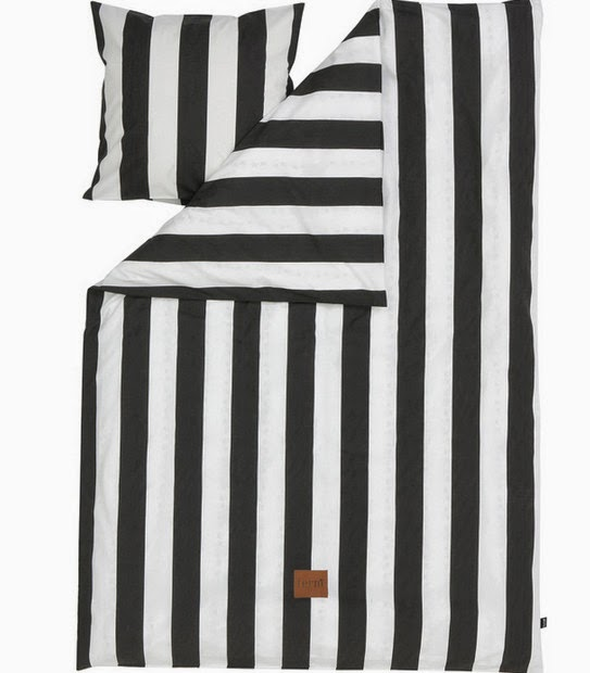 Skandivis striped bedding