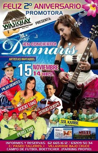concierto damaris