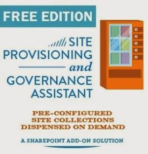 Enterprise ready SharePoint self-service site collection creation for free