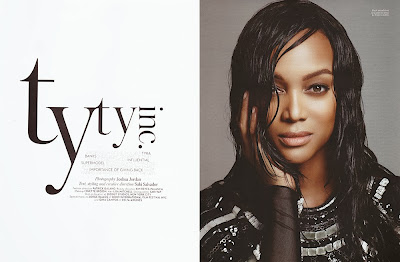 Tyra Banks HQ Pictures Mega  Magazine Photoshoot February 2014 By Joshua Jordan