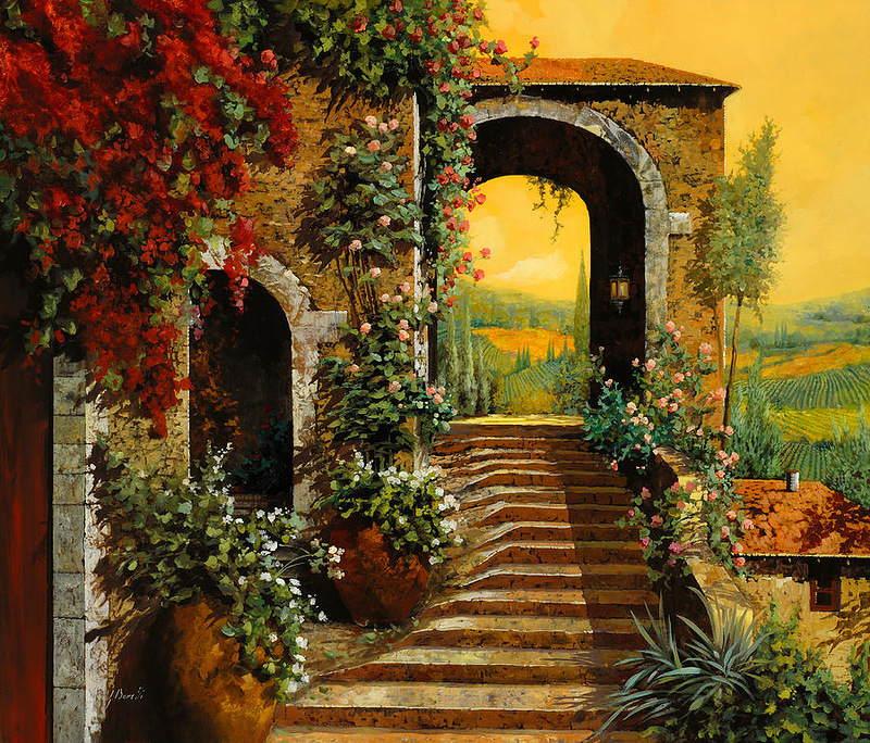 Tuscan Kitchen Tree Lighting
