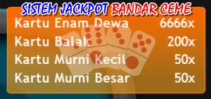 Jackpot Bandar Ceme