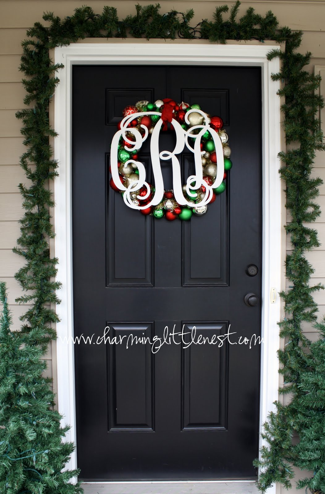 Decorating with Christmas Ornaments |