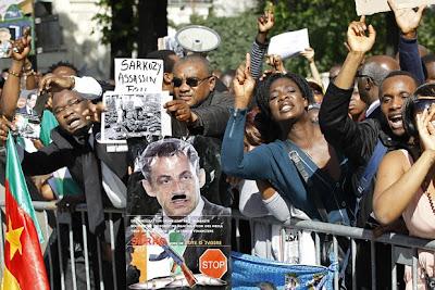 Поддръжници на президента на Кот д'Ивоар Лоран Гбагбо