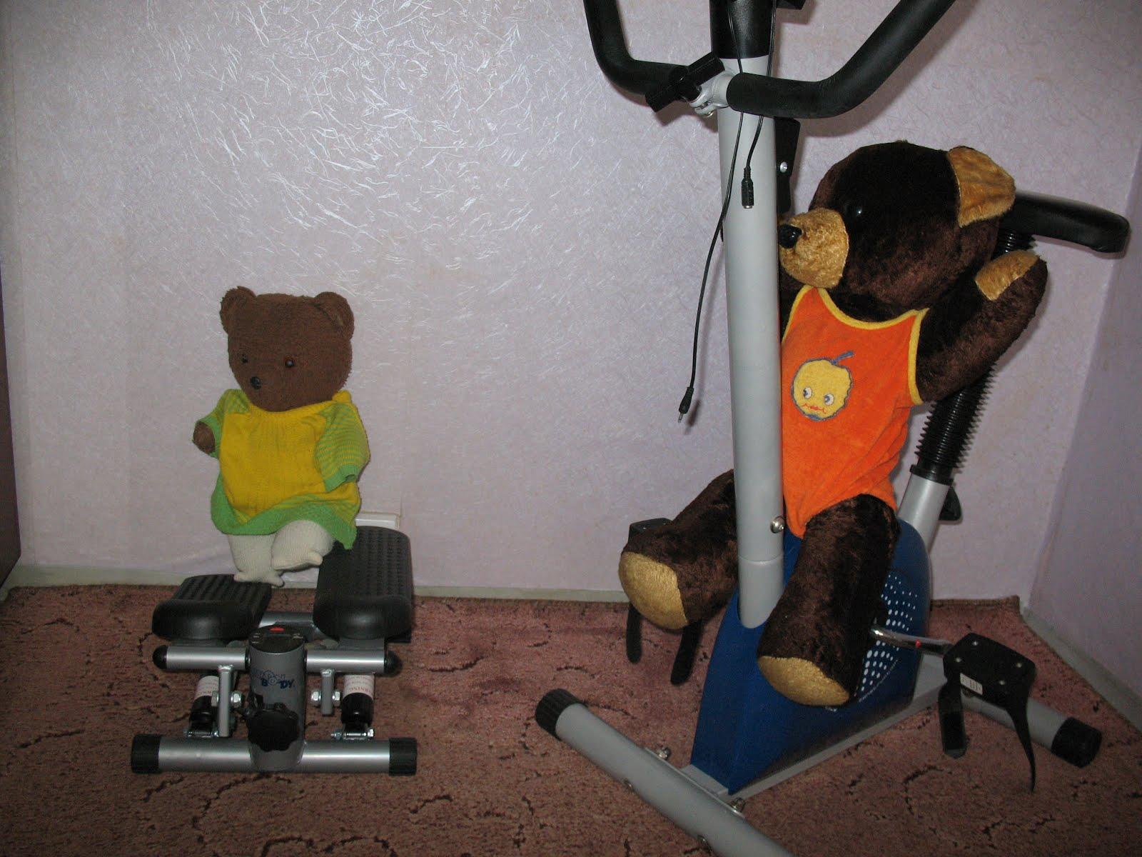 Każdy powinien ćwiczyć...