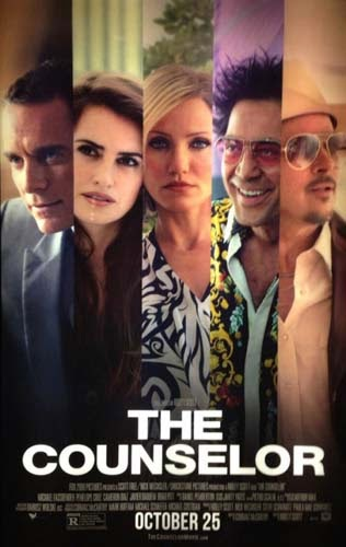 Film The Counselor di Bioskop