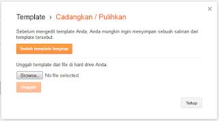 Cara Mudah Mengganti Template Blog | JavaNetMedia.com