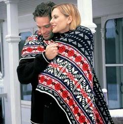 Nordic Afghan Lap Blanket