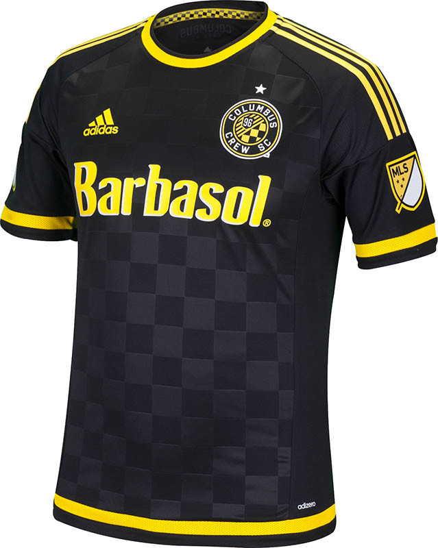Columbus Crew Uniforms Columbus Crew 2015 Away Shirt