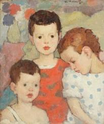 Trei frați - Nicolae Tonitza