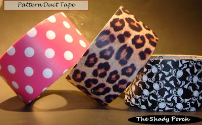 Duct Tape with prints and patterns