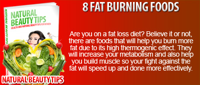 8 Fat Burning Foods