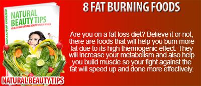 8 Fat Burning Foods