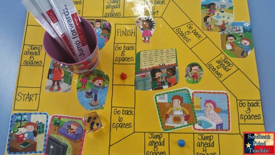 Southern Fried Teachin ESL Gameboard