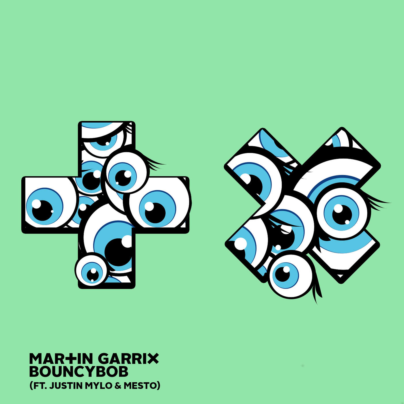 Martin Garrix - Bouncybob (feat. Justin Mylo & Mesto) - Single Cover