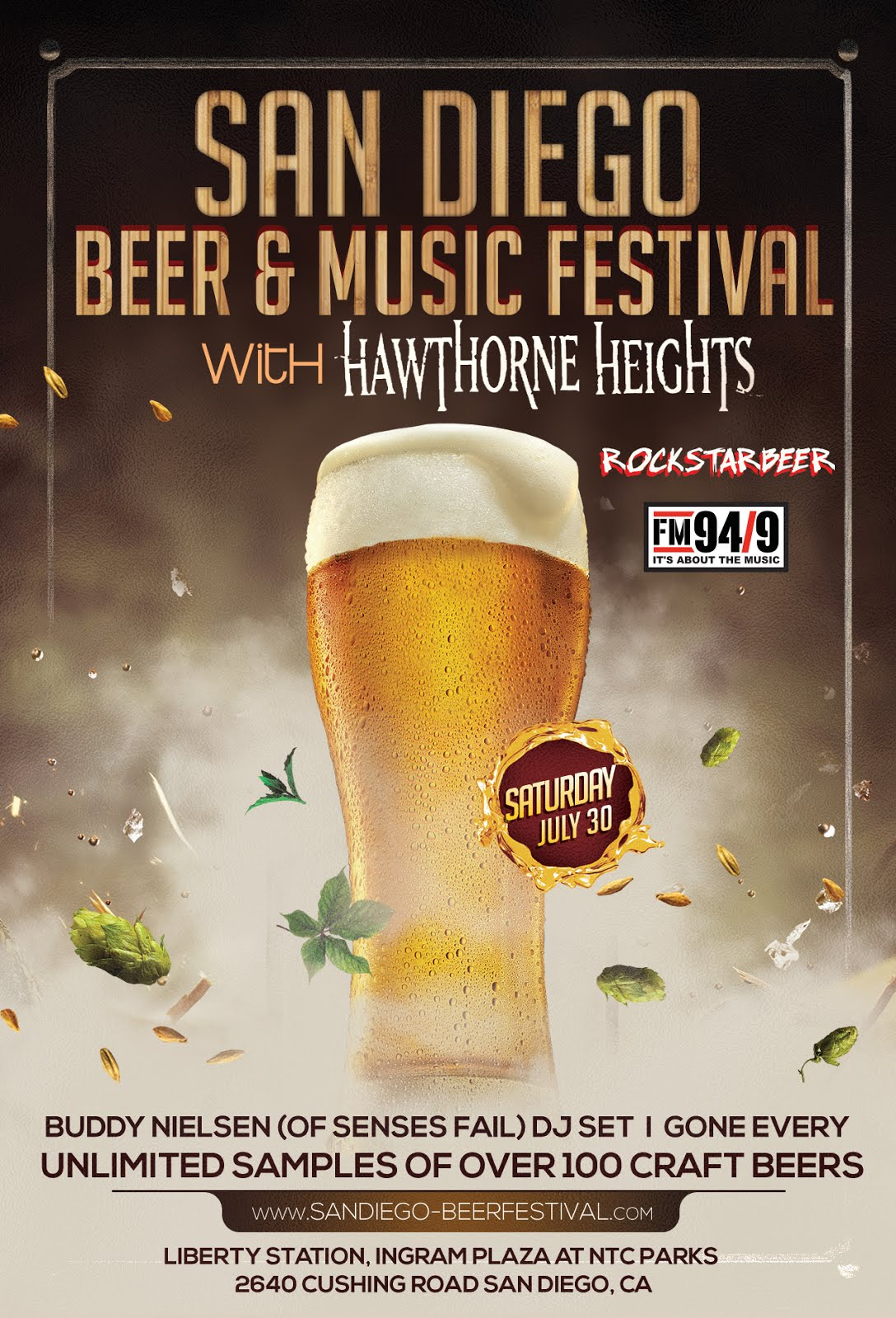 Save on passes & Enter to win VIP tickets to San Diego Beer & Music Festival - July 30