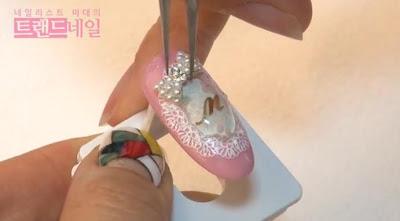 wedding nail art, wedding nail polish