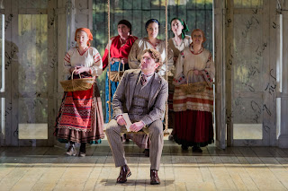 Brett Polegato as Eugene Onegin at Grange Park Opera, 2015 - photo credit Robert Workman