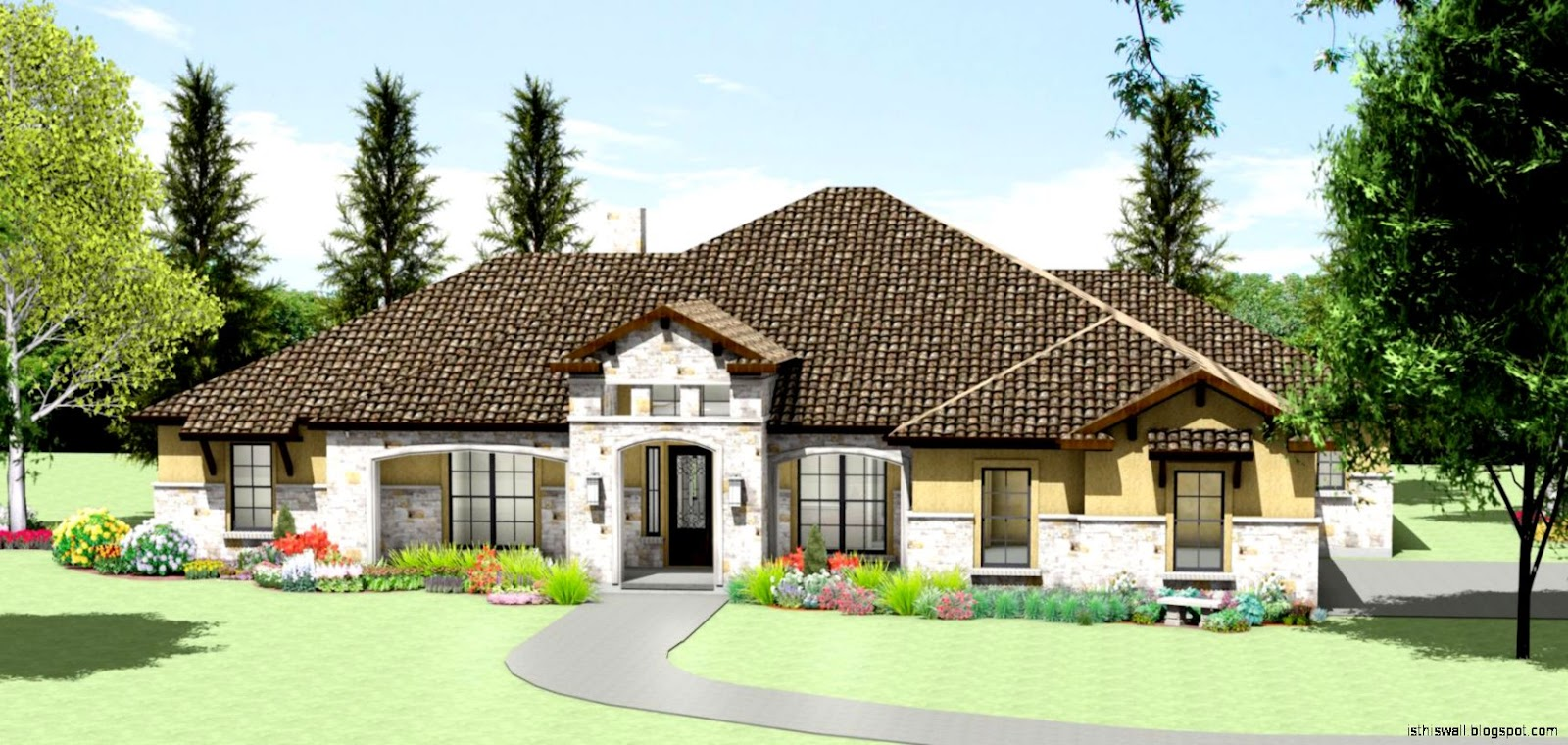 Home design texas hill country this wallpapers for Texas country house plans