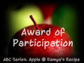 Participation Award from Ramya
