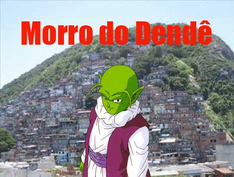 No morro do Dendê