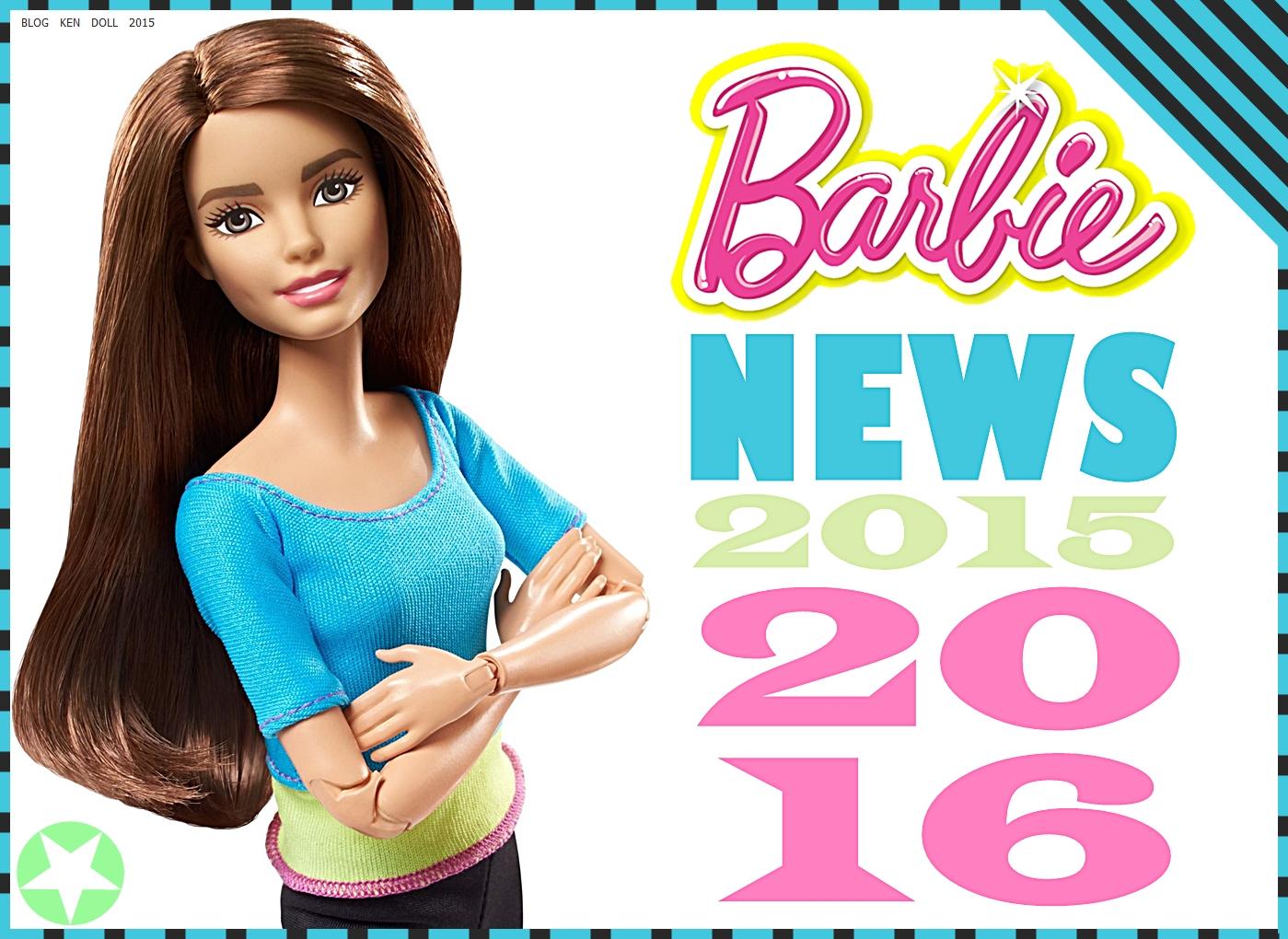 Ken Doll Novidades Da Linha Barbie 2015 2016